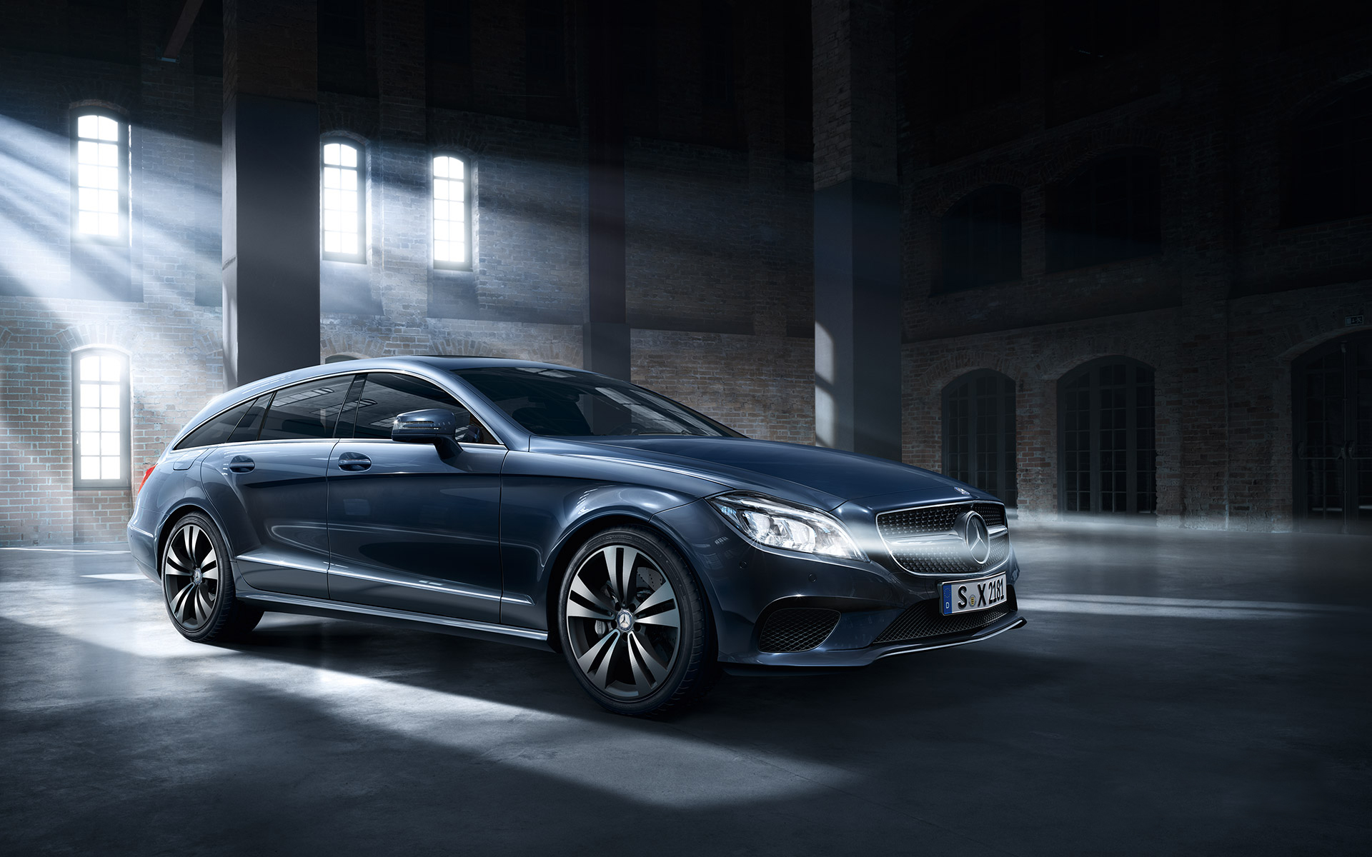 Cls klasse shooting brake for Garage mercedes bron